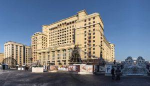 История знаменитой сочинской гостиницы ,,Москва''
