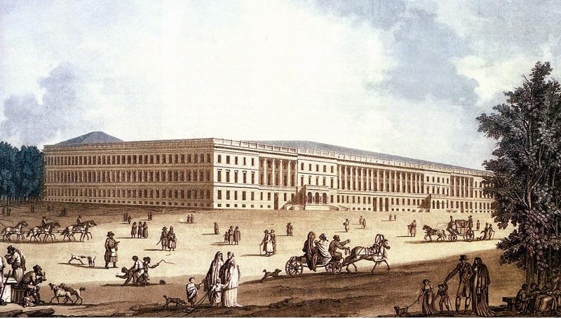 дворец был восстановлен