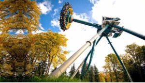 Популярные парки развлечений в Санкт-Петербурге