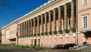 Знаменитый московский Екатерининский (Головинский) дворец