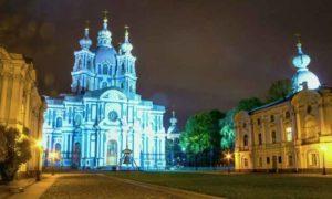 Автобусные экскурсии по ночному Санкт-Петербургу в дни фестиваля Алые паруса