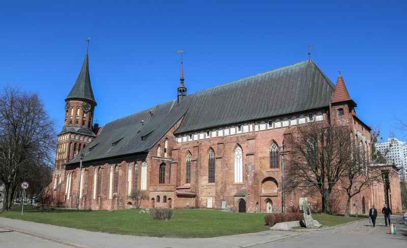 собор можно считать главной исторической достопримечательностью Калининграда